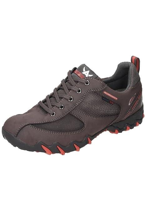 Zapatillas Trekking Impermeables Allrounder Neba-Tex marrón: Amazon.es: Zapatos y complementos