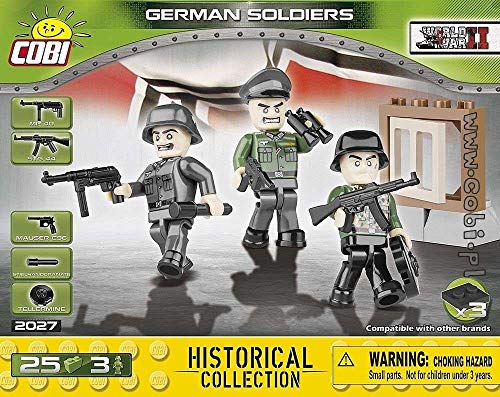 COBI Historical Collection German Soldiers Toy, - Soldiers Collection