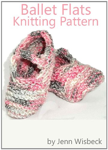 Ballet Knitting Patterns - Ballet Flats Knitting Pattern