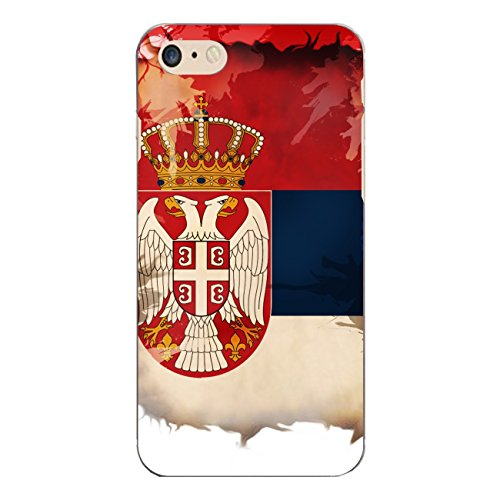 "Disagu Design Case Coque pour Apple iPhone 7 Housse etui coque pochette ""Serbien"""