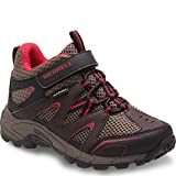 Best Merrell Athletic Shoes For Boys - Merrell Hilltop Quick Close WTRPF Hiking Boot, Brown Review