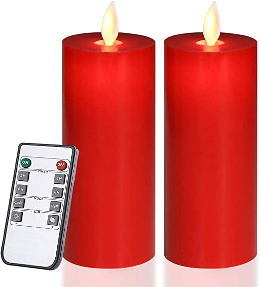 Amazon.com: Only-us - Velas LED parpadeantes, funciona con ...