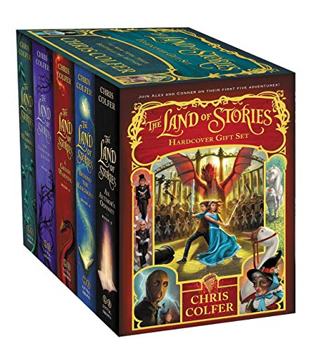 Land of Stories Chirs Colfer Collection 6 Books Box Set (Book 1-6)