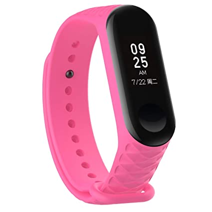 Replacement Strap for Xiaomi Mi Band 3 - GoFree Flexible Silicone Bands for  Xiaomi MiBand 3