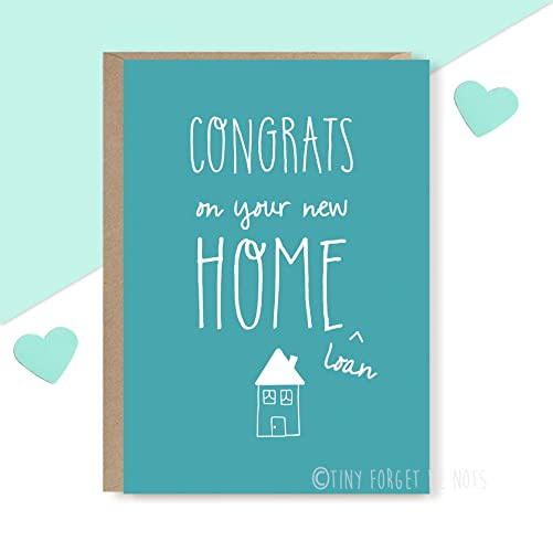 congrats on new home card new home card new house card congratulations card