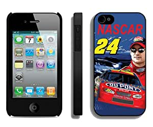 Fashionable And Durable Designed Case For iPhone 4 With Nascar Jeff Gordon Phone Case