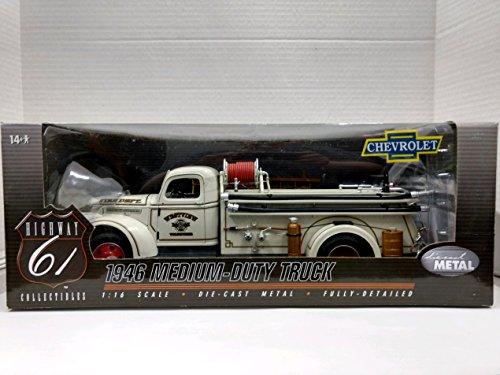 Highway 61 Diecast - Highway 61 50498 1946 Chevrolet Medium-Duty Truck 1:16 Scale Die-Cast Metal Replica