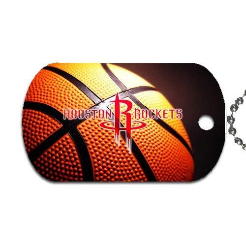 Rocket Dog Chain (Rockets Basketball Dog Tag with 30