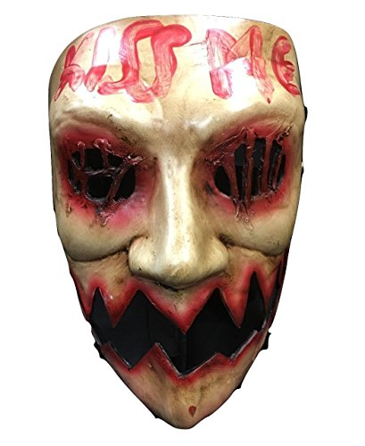 The Purge Kiss Me Election Year Deluxe Fibreglass Halloween Cosplay Mask]()