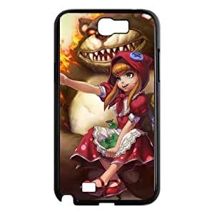 Samsung Galaxy N2 7100 Cell Phone Case Black League of Legends Red Riding Annie VB6991899