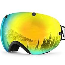 IceHacker XA Ski Snowboard Goggles Anti-fog UV Protection Spherical Dual Lens