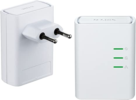 D-Link Powerline 500 AV - Kit de adaptadores PLC, 500 Mbps: Amazon.es: Informática