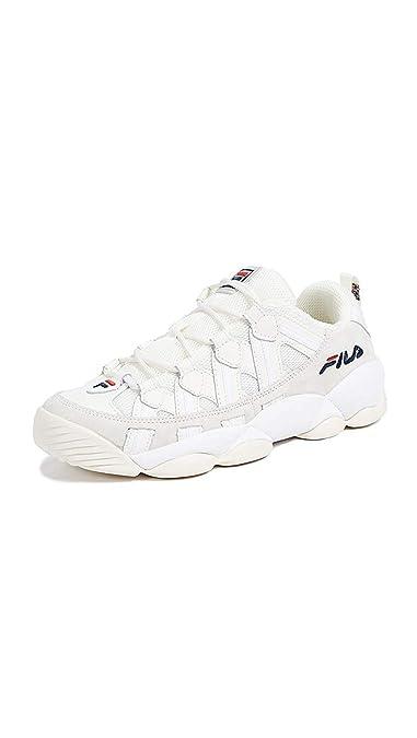 Amazon.com | Fila Men's Spaghetti Low Sneakers, Gardenia ...