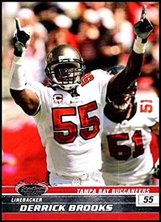 72b1c721 2008 Topps Stadium Club #76 Derrick Brooks NM-MT Tampa Bay Buccaneers  Official NFL