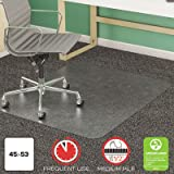 DEFCM14243 - Deflect-o SuperMat Studded Beveled Mat for Medium Pile Carpet