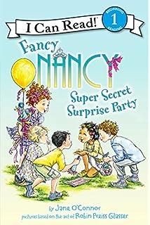 fancy nancy super secret surprise party i can read level 1 - Fancy Nancy Halloween