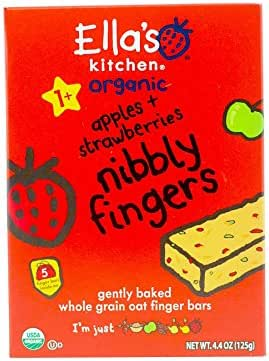 Baby & Toddler Snacks: Ella's Kitchen Nibbly Fingers