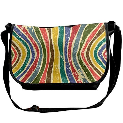Single Bag Cross Background Casual Women's Grunge Shoulder Fashion Bags Black Striped Body Designer Bag Abstract qZw0TYI