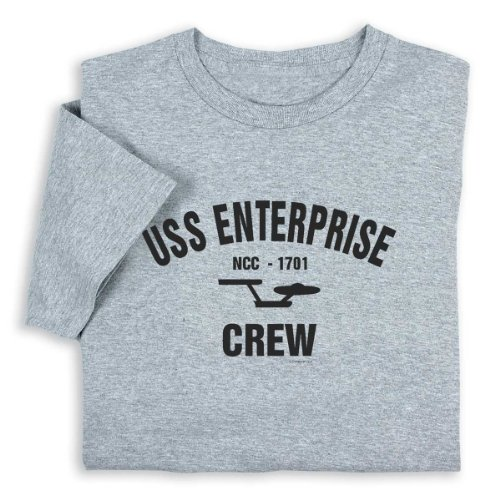 Star Trek USS Enterprise Crew T-shirt