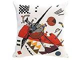 Kandinsky - Pillow Case - Orange (1923)