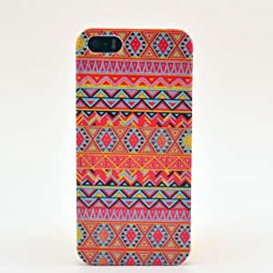 Generic Aztec Tribal Pattern Snap On Hard Back Case Cover For Apple Iphone 5S