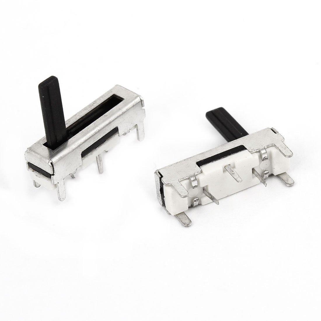 2pcs 11 mm Carrera del actuador lineal simple de tipo deslizante del potenciómetro de 18K