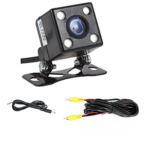 170 Degree HD Waterproof Dustproof Reversing Camera 170 Degrees Wide Compatible All 12V Car LED Night Vision