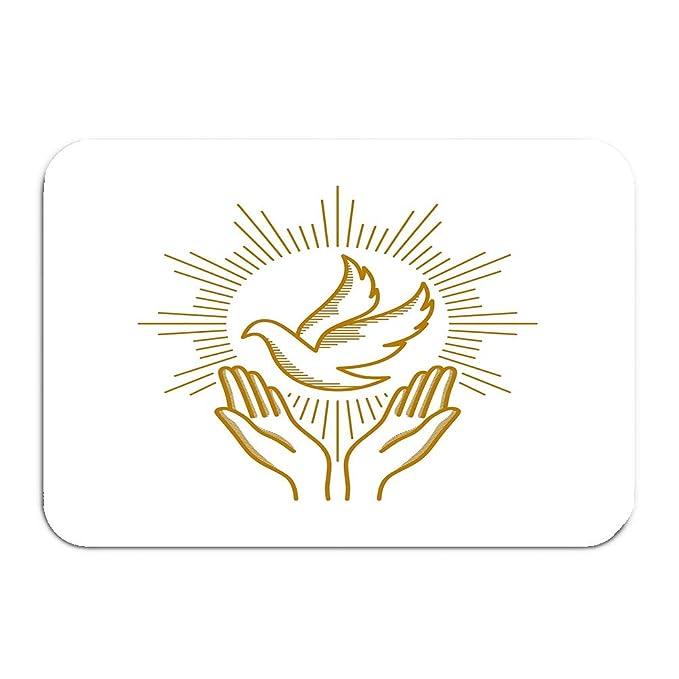 njdkfjaoeindcdfjkal Alfombra para Puerta con Logo de Iglesia ...