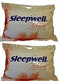 Sleepwell Adore-XL Fibre Pillow - Pack of 2