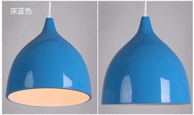 Plafoniere Blu : Jhyqzyzqj lampadari lampade a sospensione plafoniere il nordic