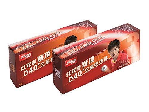 DHS * * * Dual 40 + Dell Free Weiß e ITTF Pack 10U.