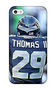 JeffreySCovey Scratch-free Phone Case For Iphone 5/5s- Retail Packaging - Seattleeahawks