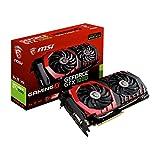 MSI NVIDIA GTX 1080 Gaming X 8G Grafikkarte (HDMI, DP, DL-DVI-D, 2 Slot Afterburner OC, VR Ready, 4K-optimiert)