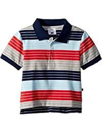 Toobydoo Mens Stars and Stripes Polo (Infant/Toddler/Little Kids/Big Kids)