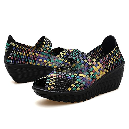 Merceditas Mujer para Multicolor DAYOUT SDF559 8XqOxc45w