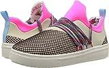 Steve Madden Girls' Jlancer Sneaker, Multi, 1 M US