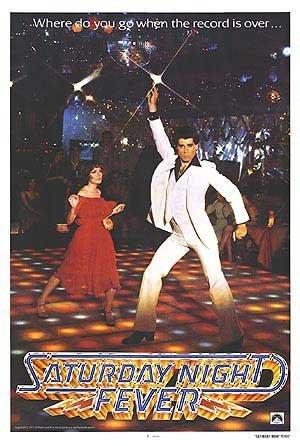 Saturday Night Fever John Travolta Huge Vintage PAPER Movie