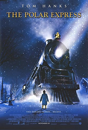 Image result for polar express movie poster