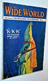 img - for The Wide World - The Magazine for Everybody, September 1921, No. 281, Vol. 47 - KKK (Ku Klux Klan) The Stranges Secret Society on Earth book / textbook / text book
