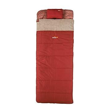 COVEAOEM] Saco de Dormir Rectangular de 4 Estaciones, Relleno de ...