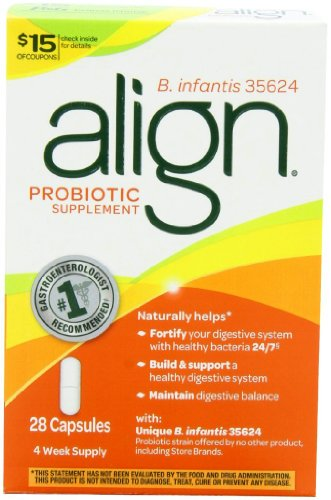 Align Digestive Care Probiotic Supplement, 28 count, Health Care Stuffs