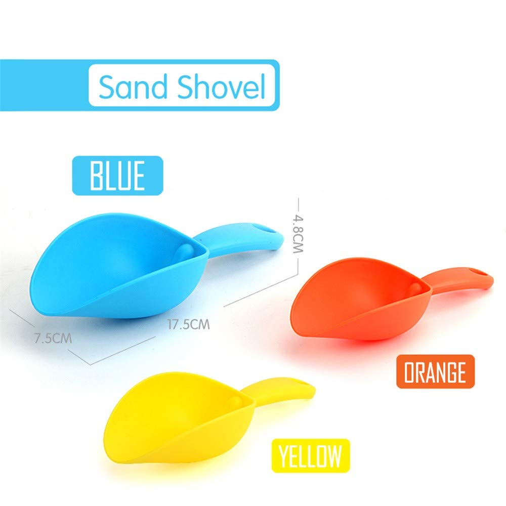 Weiyun Toys&Games - Children Beach Toy Bath Toy, Sand Shovel Play Sand&Water Toys ,Summer Beach Basket Swimming Pool Toys Tool for Kids(Random Delivery)