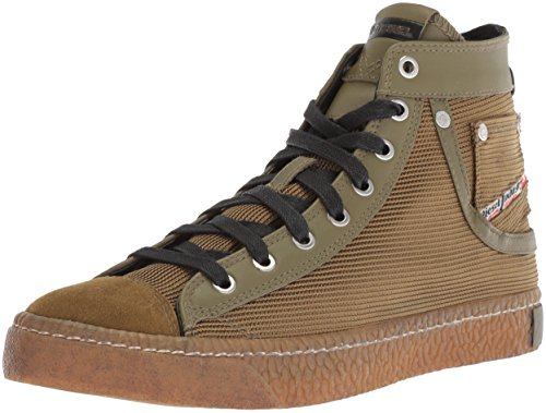 Esposizione Mens Magnete Diesel In Sneaker Olive Uccisione