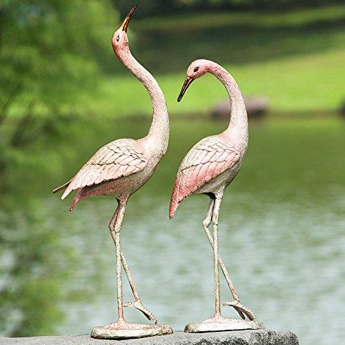 Spi Home Crane - SPI Home Flamboyant Crane Garden Pair