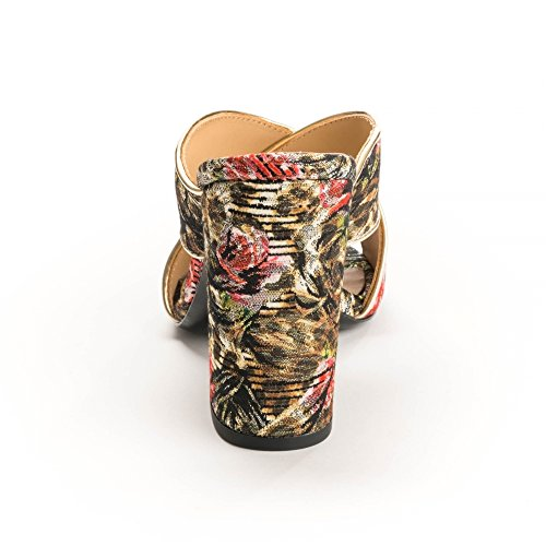 Leopard and Lolabis Mules Print Leopard Heeled Ash Footwear Floral nRZtxqtaB