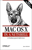 img - for Mac OS X in a Nutshell book / textbook / text book