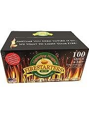 Lightning Nuggets N100SEB Super Economy Box Fire Starter 100, Count, Tan