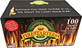 Lightning Nuggets N100SEB Firestarters Super Economy Box of Fire-Starting Nuggets, 100 Count