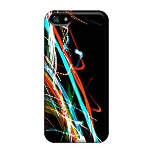 Protection Case For Iphone 5/5s / Case Cover For Iphone(lights Streak)