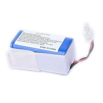 Batería Li-Ion para iLife A4 Aspirador robótico, 2600 mAh ...